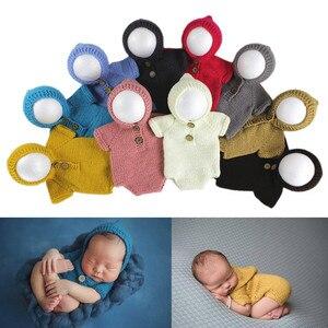 Accessoires de photographie pour bébés garçons | Accessoires de Photo pour bébés filles, vêtements en tricot, accessoires de Photo pour nourrissons, Crochet cadeaux pour bébés de 3-6M