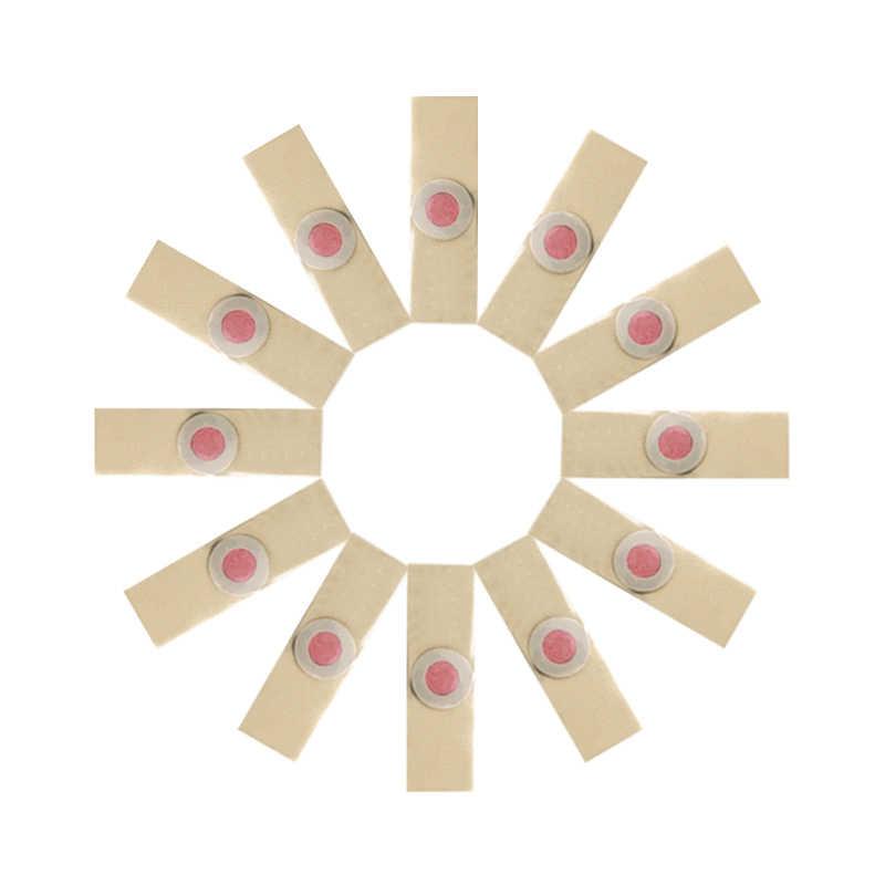 12 pz/lotto Cura Del Piede Gesso Medica Del Piede Corn Rimozione Calli Verruche plantari Spina Gesso Salute e Bellezza Per Lo Strumento