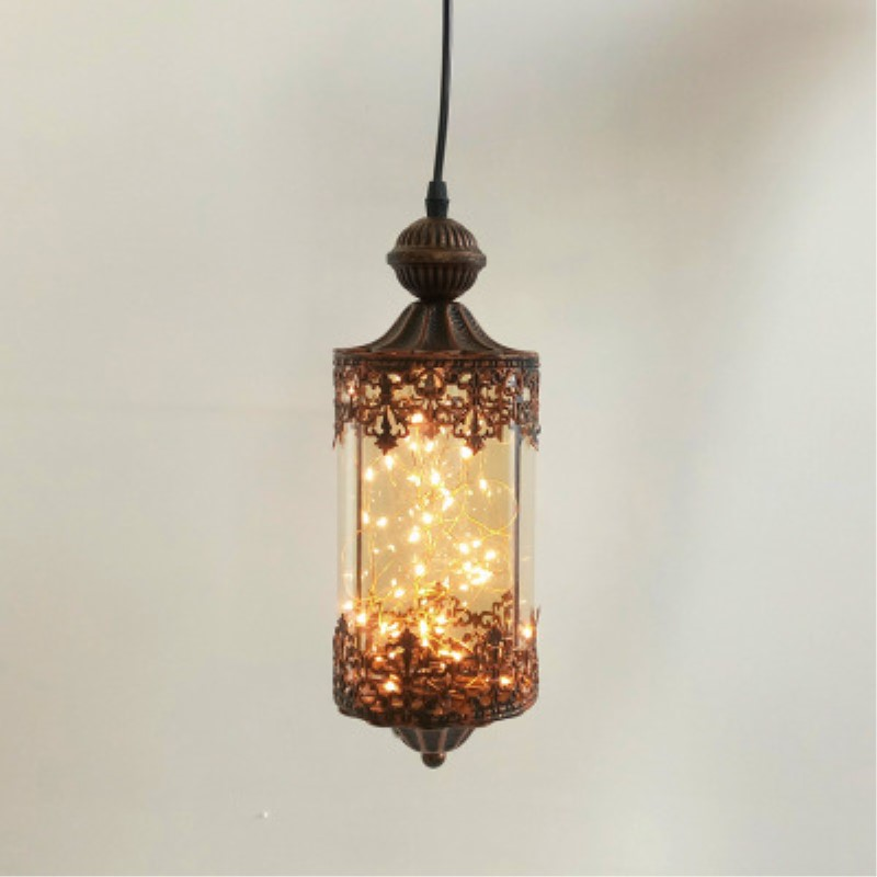 American Country Loft Retro Style Glass Pendant Lamp Cafe Restaurant Decoration Lamp Free Shipping ecobrt vintage iron and glass pendant lights loft retro bar cafe decoration light restaurant american country style hanging lamp