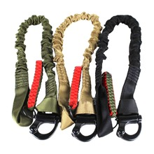 Outdoor CS Must-Have Gun Rope Stretch Single Point Adjustable Rifle Strap Climbing Accessories