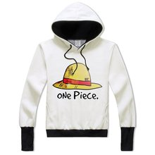 Anime One Piece Luffy Hoodie Hat Printing for Teens