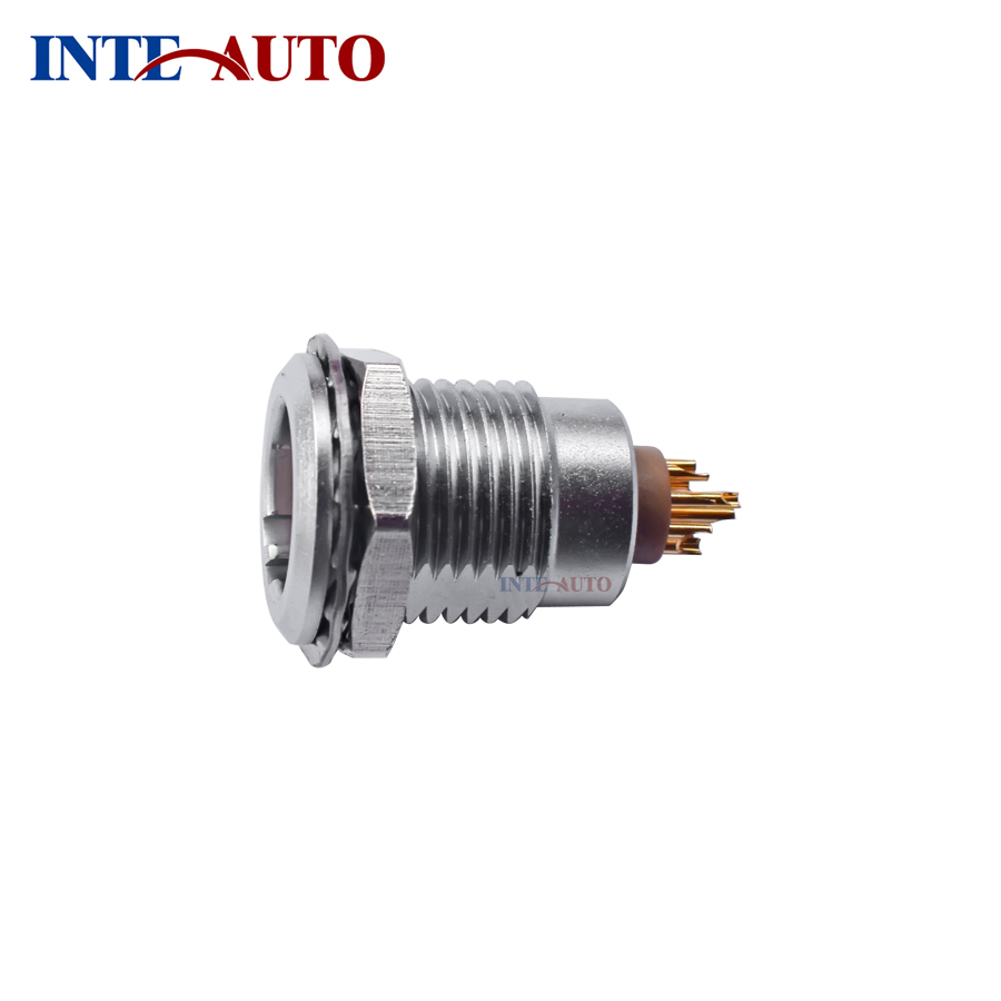LEMOs ODUs Connector, 2B 8 pins Metal electrical push pull Plug receptacle,wiring  harness connnector,FGG.2B.308 EGG.2B.308-in Connectors from Lights ...