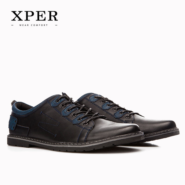 2016 XPER Brand Men Casual Shoes Mixed Colours Breathable Men Flats Shoes PU Luxury Shoes For Men Big Size YM86819BU