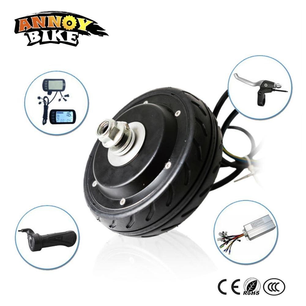5 pouce Électrique hub moteur brushless 24-36 v 200 w/250 w kit moteur de la roue électrique scooter moteur Planche À Roulettes conversion kit