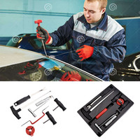 Car Windshield Removal Set Tools Auto Disassembling Broach Group Auto Glass Tools Glass Steel Wire Puller Car Repair Tools