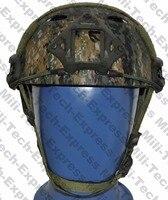 SNELLE AOR2 PJ Carbon Stijl Vented Airsoft Tactical Helm/Ops Core Stijl Hoge Cut Training Helm/SNELLE Ballistische Stijl Helm