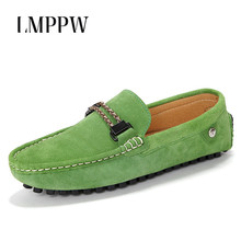 New Men Shoes Suede Leather Men Loafers British Fashion Men Flats Slip on Male Driving Shoes Soft Moccasins Breathable Gommino 2017 summer new men loafers casual shoes fashion retro slip on flats driving moccasin gommino leather footwear of male h206 35
