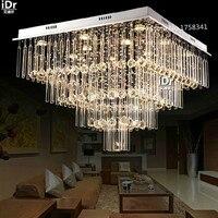 new modern luxury k9 crystal lamp top design led crystal Bedroom lamp Hall lamps ceiling lights