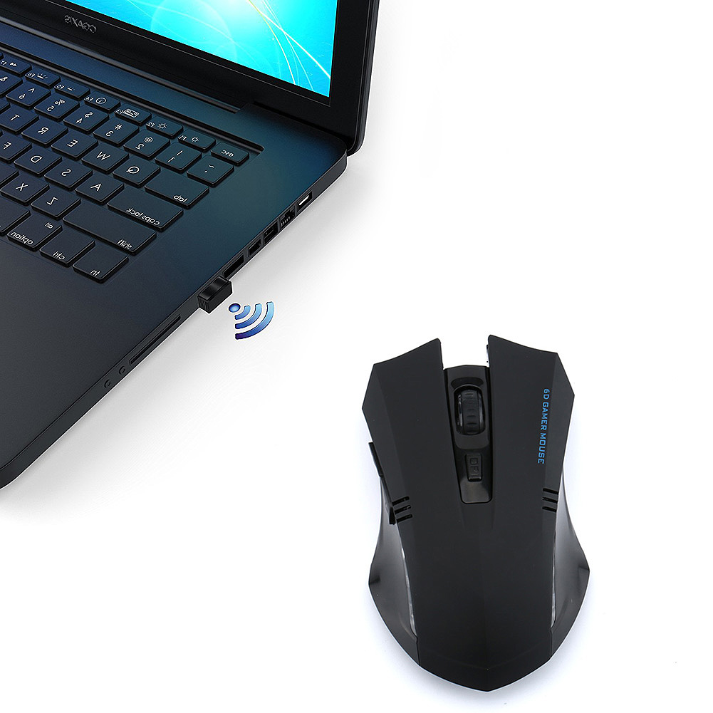 Hot Best 2.4G Mini Portable Wireless USB Laser Gaming Mouse Silence For PC Laptop Computer Gamer QJY99