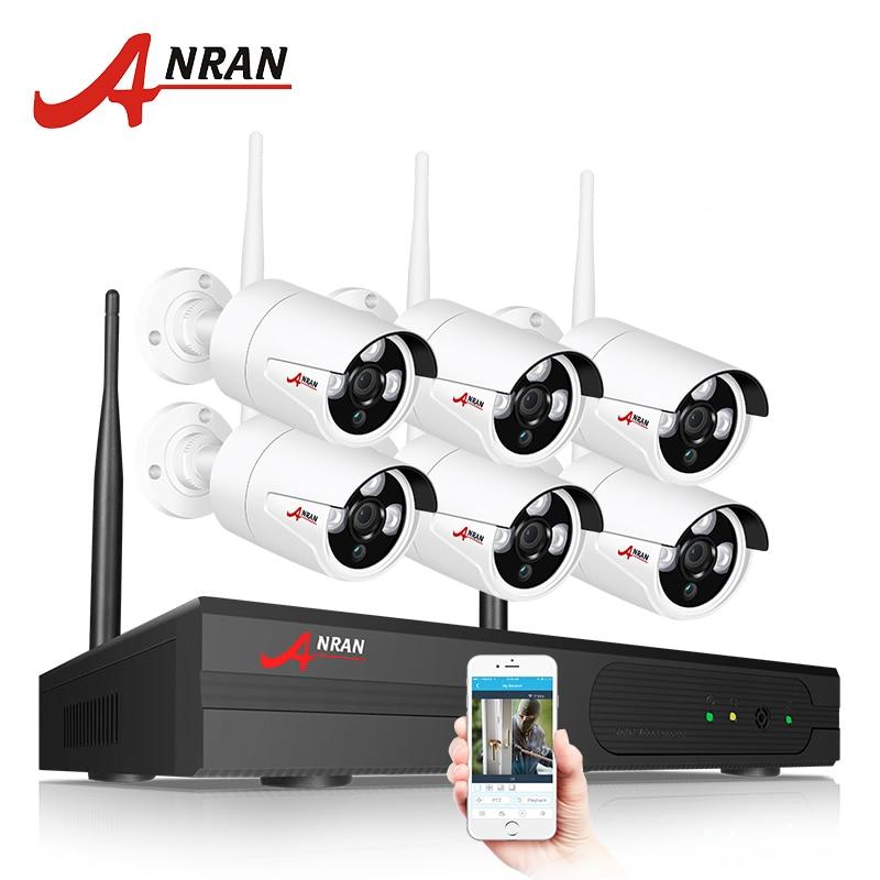 ANRAN Cámara sistema de seguridad inalámbrico 8CH 1080 P NVR Kit HD cámara IP al aire libre SISTEMA DE CCTV de la visión nocturna de la cámara de vigilancia. sistema de - 2