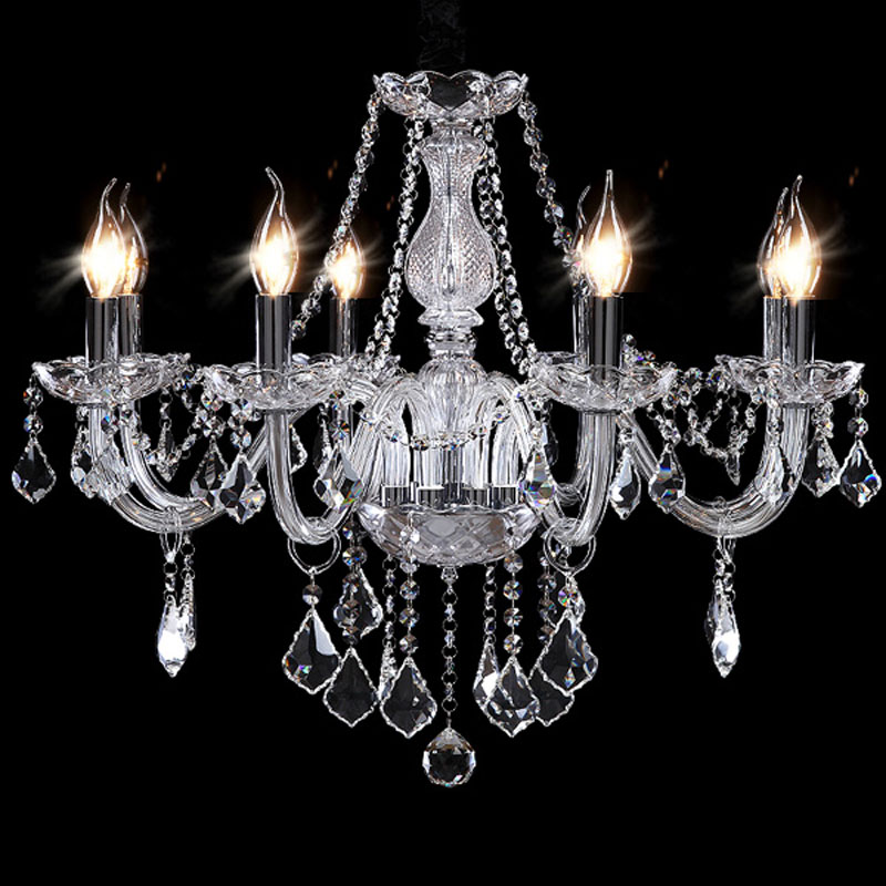 2017 Cheap Crystal Chandelier moroccan decor lustres e pendentes de cristal Clear Chandelier Crystal Free shipping топливоснабжение no logo 7 10an auto