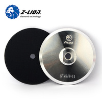 Z LION 5 Polishing Aluminum Diameter 120mm M14 Or 5 8 11 Aluminium Based Backer For
