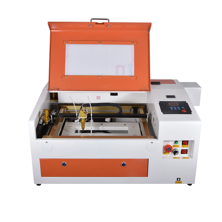 New GY-430 Laser Engraving Machine Computer Laser Lettering Machine Engraved Chapter Machine LOGO Marking Machine 110V/220V 40W