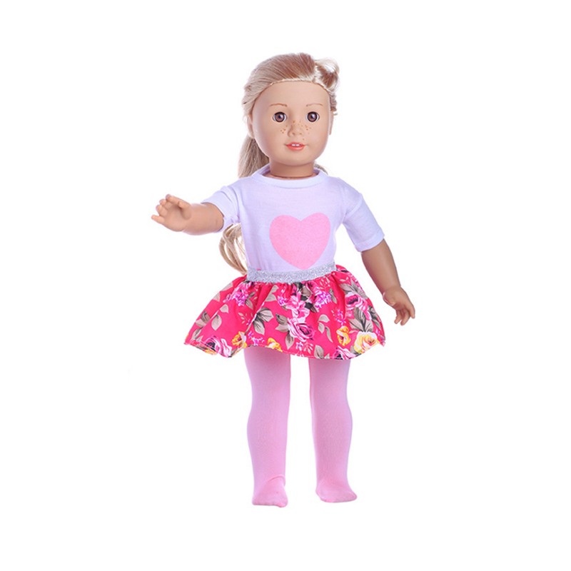 18 quot Doll Clothes Cartoon Clothes for My Baby doll 18 inch Life Generation doll Outfit Toys Accessories Girl Gifts in Dolls Accessories from Toys amp Hobbies
