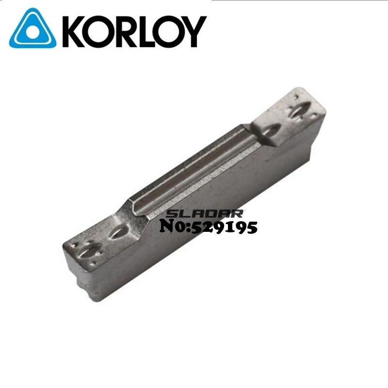 Korloy Original MGMN200-M CN2000 MGMN300-M MGMN400-M CN2000 Carbide Inserts Parting Off Grooving Facing Blade CNC Lathe Tools