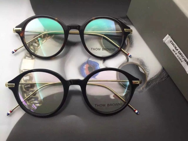 78786904921f Optical acetate prescription spectacle round Thom Browne tb708 TB-708 Men  Women Myopia Eye glasses Frame Eyeglasses Frame