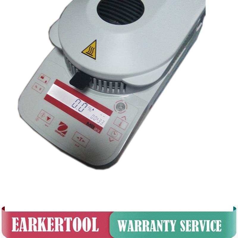 MB23 Moisture Tester Ohaus Infrared Heating Grain Moisture Meter Analyzer 0 01g Readability 110g Range in Moisture Meters from Tools