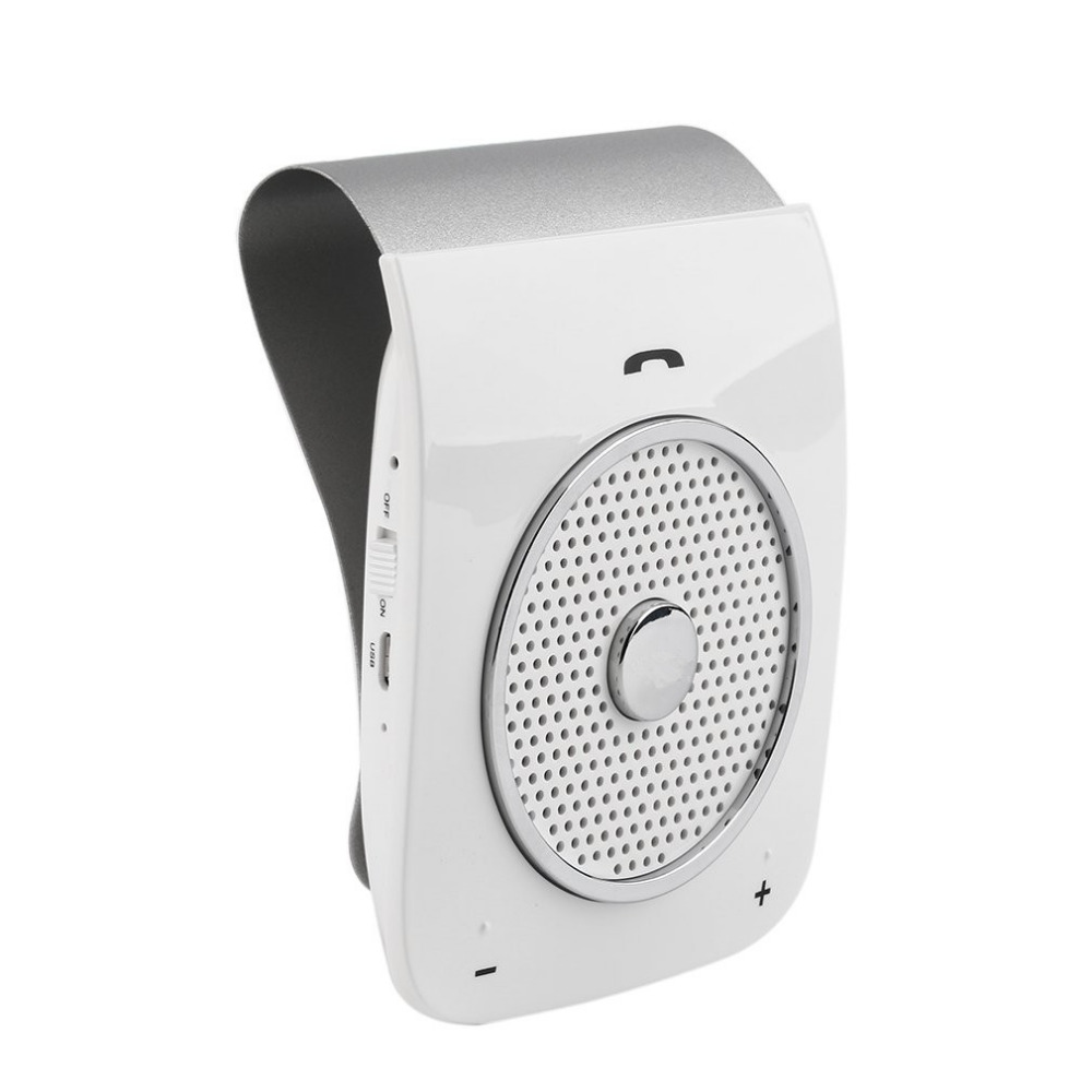 High Quality Speakerphone Bluetooth Hands free Stereo Bass Wireless Bluetooth Handsfree Car Kit For Smart Phone