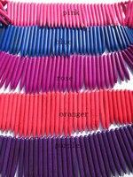 2 strands chất lượng cao turquoise đá đá quý spikes sharp cột hồng tím violet hot red hỗn hợp loose bead