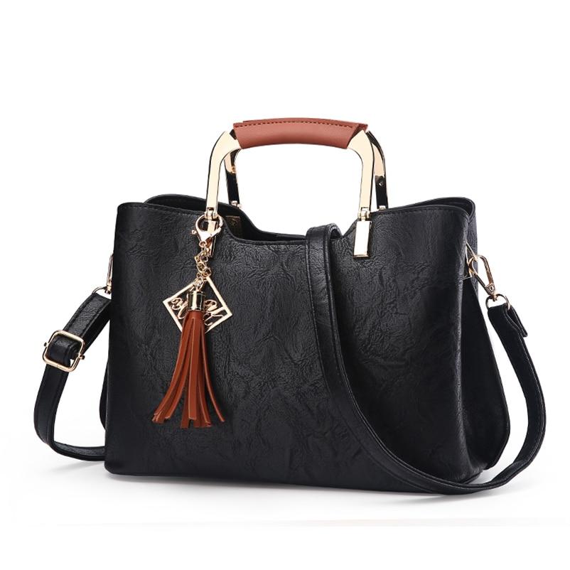 Nevenka Brand Design Women Luxury Handbags Female Tassel Sequined Messenger Bag Quality Leather Tote Solid Zipper Evening Bags12