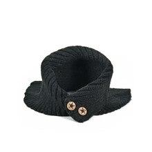 Бренд Yilian, детский зимний шарф для девочек и мальчиков, хлопковый плотный теплый вязаный шарф с кольцом, милый теплый мягкий шарф с пуговицами, TX003