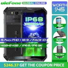 Ulefone Zırh 3 IP68 Su Geçirmez Cep Telefonu 10300 mAh 5.7