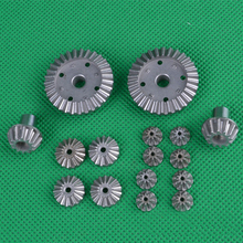 1Set WLtoys 12428 Metal Differential Gear Upgrade Reduction Bevel Gears for 1/12 Desert Falcon RC Cars OP Accessories fatjay dhk hobby dhk8384 metal upgrade accessories op parts front suspension plate support bracket for rc cars