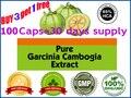 400 мг х 100 шт. Чисто garcinia cambogia похудения продукты 85% HCA похудеть диетический продукт эффективным сжигатель жира