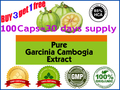 400mg x100pcs Pure garcinia cambogia extract slimming products 85% HCA lose weight diet product effective fat burner