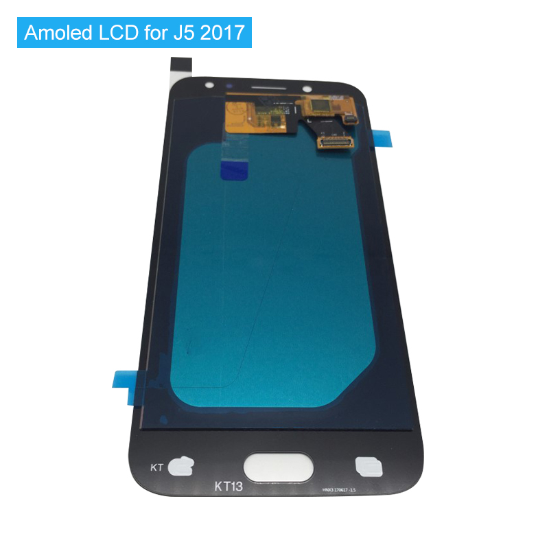 Super Amoled Replacement LCD For Samsung Galaxy J5 2017 LCD J530 J530F SM J530 LCD Touch