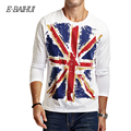 E-BAIHUI Brand  mens t shirts man cotton clothing Fitness men T shirts Casual tops tees Blusas Masculinas Camisetas swag CT017