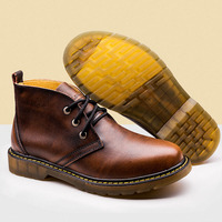 2017 Spring Autumn England Men S Martin Boots Martin Shoes Casual Men Boots Winter Plus Velvet