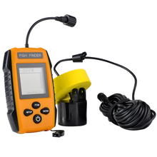 2017 Alarm 100 M Portable Sonar Fishing Echo Sounder Fishing Finder wired Tackle Finder LCD HD tips the size of the fish D1116HY