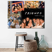 Friends Tv Series Wallpaper Wall Art Canvas Poster And Print Painting Decorative Picture For Bedroom Home Decor Framework