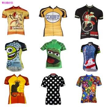 複数の選択肢女性サイクリングジャージ Ropa ciclismo 夏半袖自転車摩耗運動通気性サイクリング服 mtb