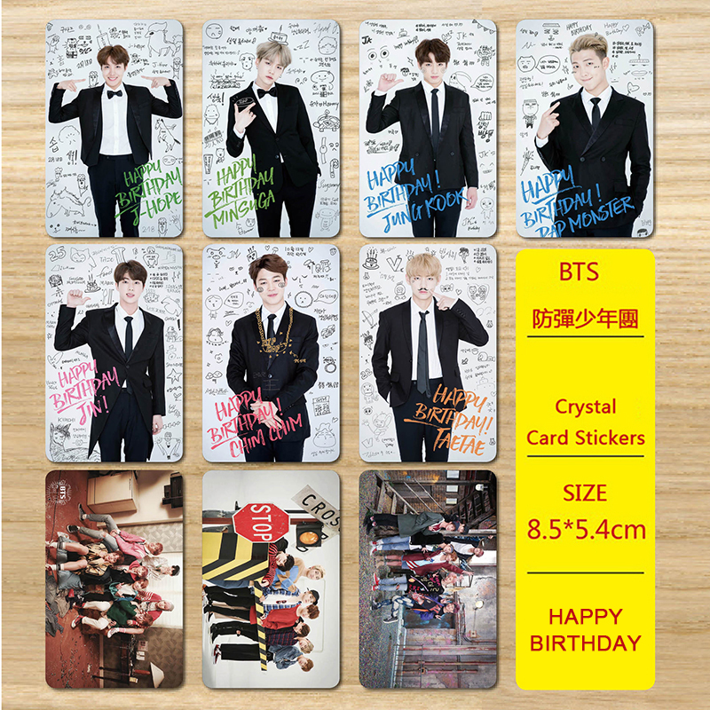 Kpop Seventeen Mini 5th Album You Make Me Day Photocard Photo Card Pvc Crystal Card Stickers For Bus Student Card My043 Jewelry & Accessories