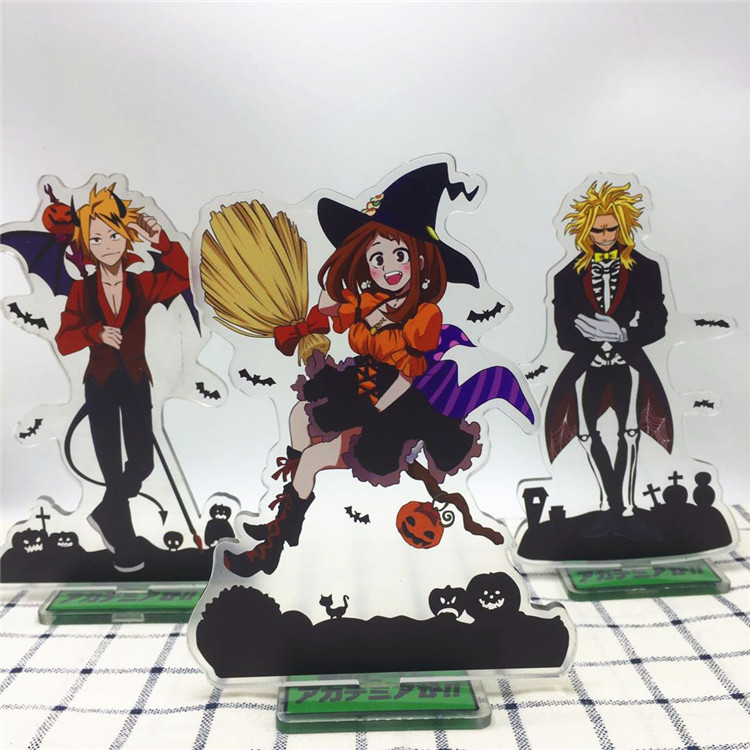 Anime My Hero Academia Boku no Hiro Akademia Acrylic Stand Model Toys Action Figure Pend ...