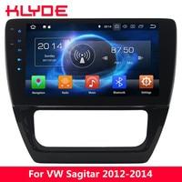 KLYDE 10.1 IPS 4G Android 8.0 7.1 Octa Core 4GB RAM 32GB ROM Car DVD Multimedia Player For Volkswagen VW Sagitar 2012 2013 2014