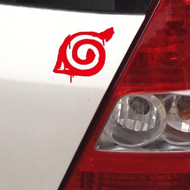 Naruto Vinyl Wrap Car Modification Stickers