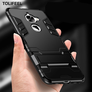Image 1 - TOLIFEEL For LeEco Le 2 Pro Case X527 Hard PC Hybrid Stand Protection Case For LeTV LeEco Le S3 X626 Case Soft Silicone Cover
