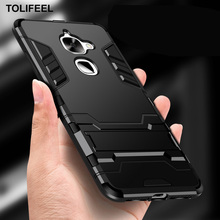 TOLIFEEL Voor LeEco Le 2 Pro Case X527 Hard PC Hybrid Stand bescherming Case Voor LeTV LeEco Le S3 X626 Case Zachte Siliconen Cover