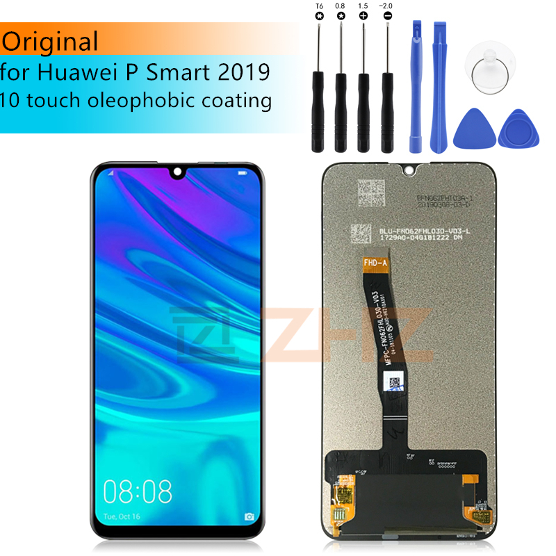"Original display For Huawei P Smart 2019 LCD Display Touch Screen Digitizer Assembly For P smart 2019 Repair Parts 6.21""(China)"