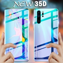 New 35D Front And Back  Full Cover Soft Hydrogel Film On The For Huawei P20 Pro P30 Mate 20 Honor 10 8X Lite Screen Protector