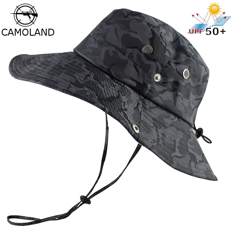 f3e274da7f1e9 Tactical Airsoft Sniper Camouflage Boonie Hats Nepalese Cap Militares Army  Mens American Military Style Accessories A-tacs FG