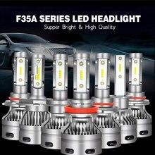 Fuxuan H7 LED Bulb Car Headllight H4 H1 9005 9006 H11 Fog Light 12V 24V Auto Headlamp Lamps Universal 6000K Led