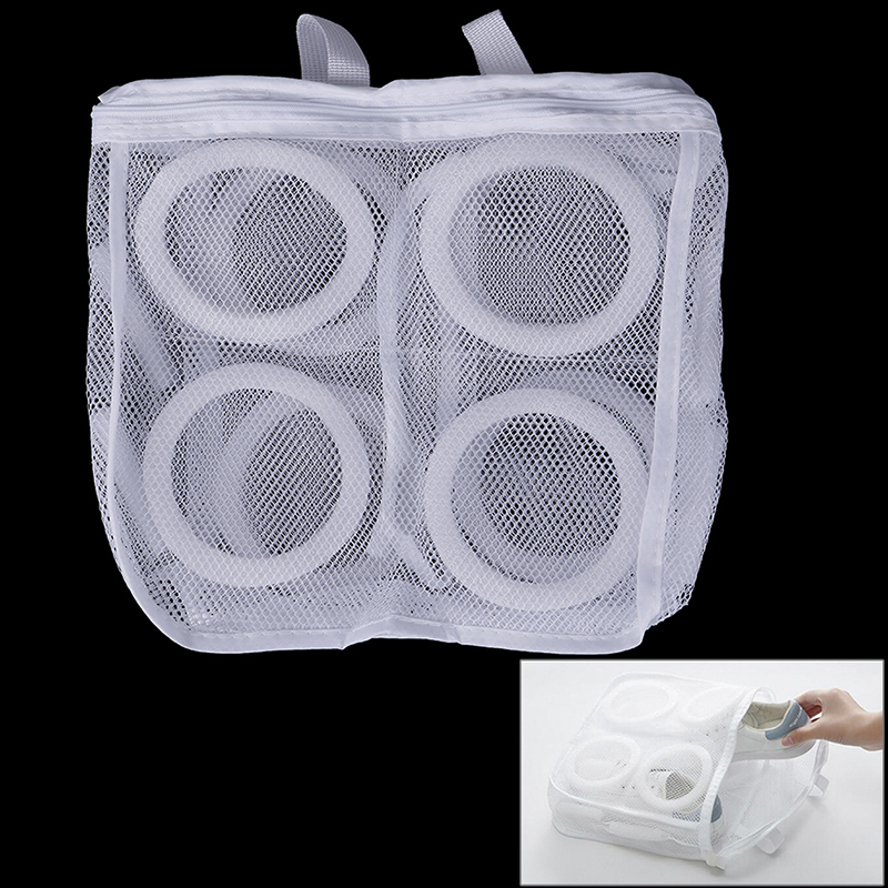 Dry Shoe Home Organizer Portable Laundry Washing Bags Laundry Bag Shoes Organizer Bag For Shoe Mesh Laundry Shoes Bags