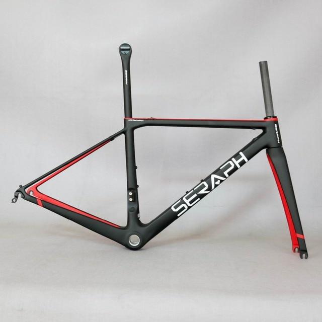 Paint frame SERAPH brand new design super light carbon bicycle frame ...