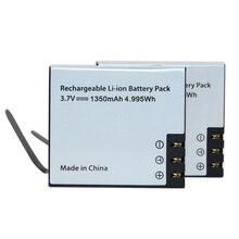 1pcs 1350mAh Li-ion Replacement Battery For EKEN Action Came