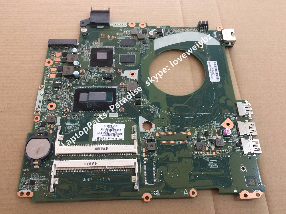 Free Shipping DAY11AMB6E0 Motherboard For HP ENVY 15-K Notebook Mainboard 766473-501 766473-001 with intel i5-4210U 840M 2G 720566 601 720566 501 free shipping 720566 001 for hp envy 15 laptop motherboard notebook mainboard video gt740m 2g