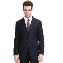 Hot sales men's suits business lerisure men Suits pure color fashion the groomsman/groom wedding suits two-piece (jacket + pants